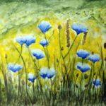 Pasmo sukcesów łapskich artystek, konkurs plastyczny Pocztówka Wielkanocna, Ogólnopolskiego Konkursu Plastycznego Kwiat dziełem doskonałym – kwiaty polne i leśne