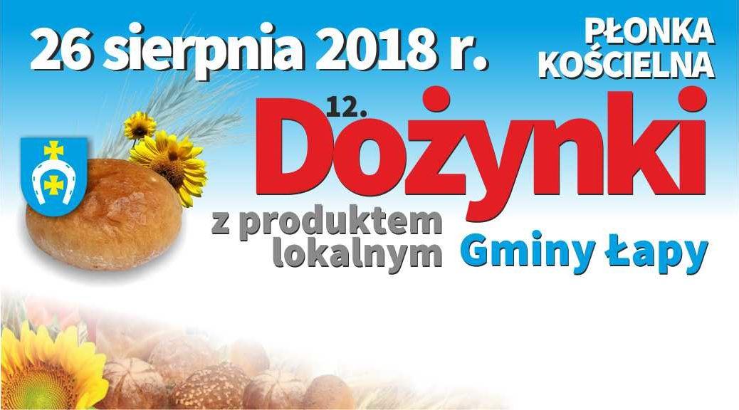 Dożynki z produktem lokalnym gminy Łapy
