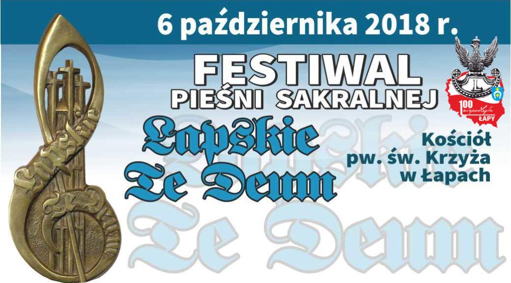 6 października 2018 r. Łapskie Te Deum