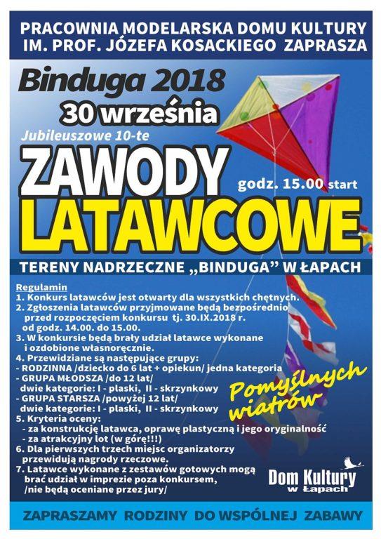 10. Zawody Latawcowe Binduga 2018
