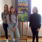 nagrodzone plastyczki Domu Kultury w Łapach