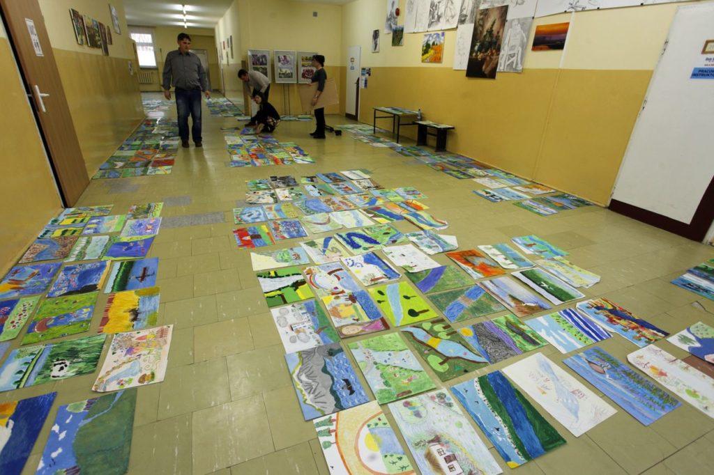 2019- ocena prac konkursu plastycznego rzeka