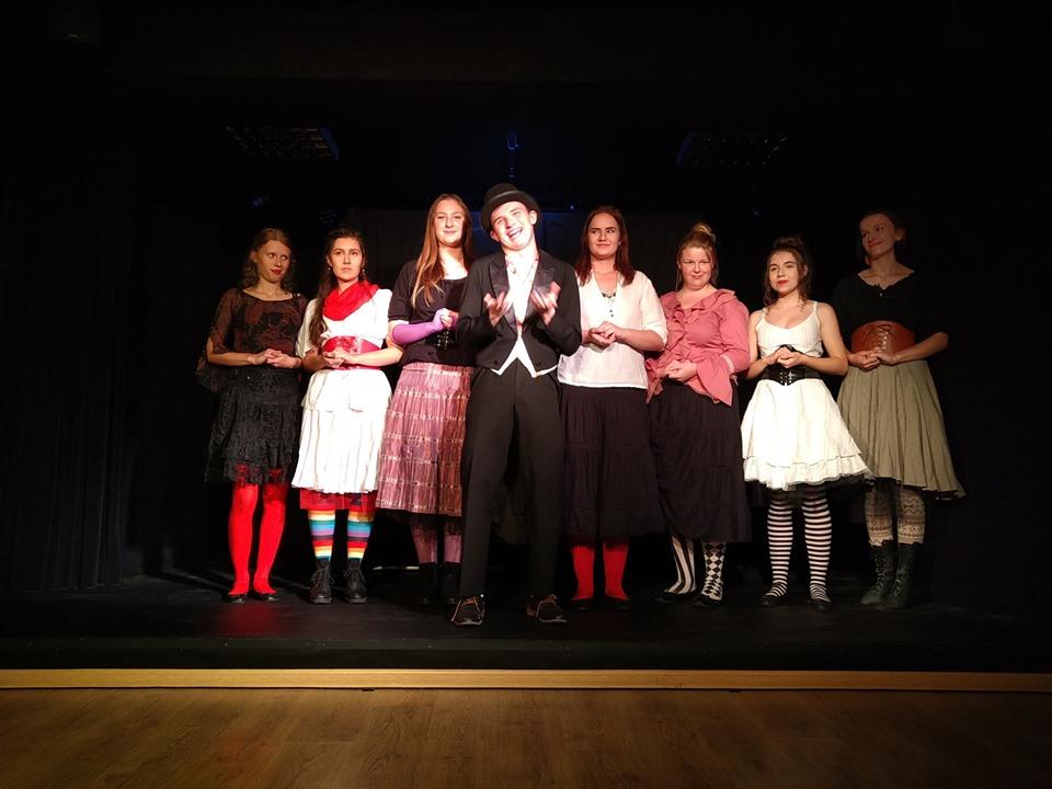 Teatr Kaprys bez naszej wspaniałej, łapskiej widowni