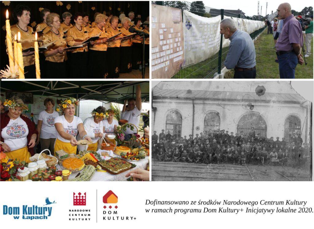 """Dom Kultury w Łapach realizuje projekt """"Domy dla kultury"""", w ramach Programu Dom Kultury+ Inicjatywy Lokalne 2020"""