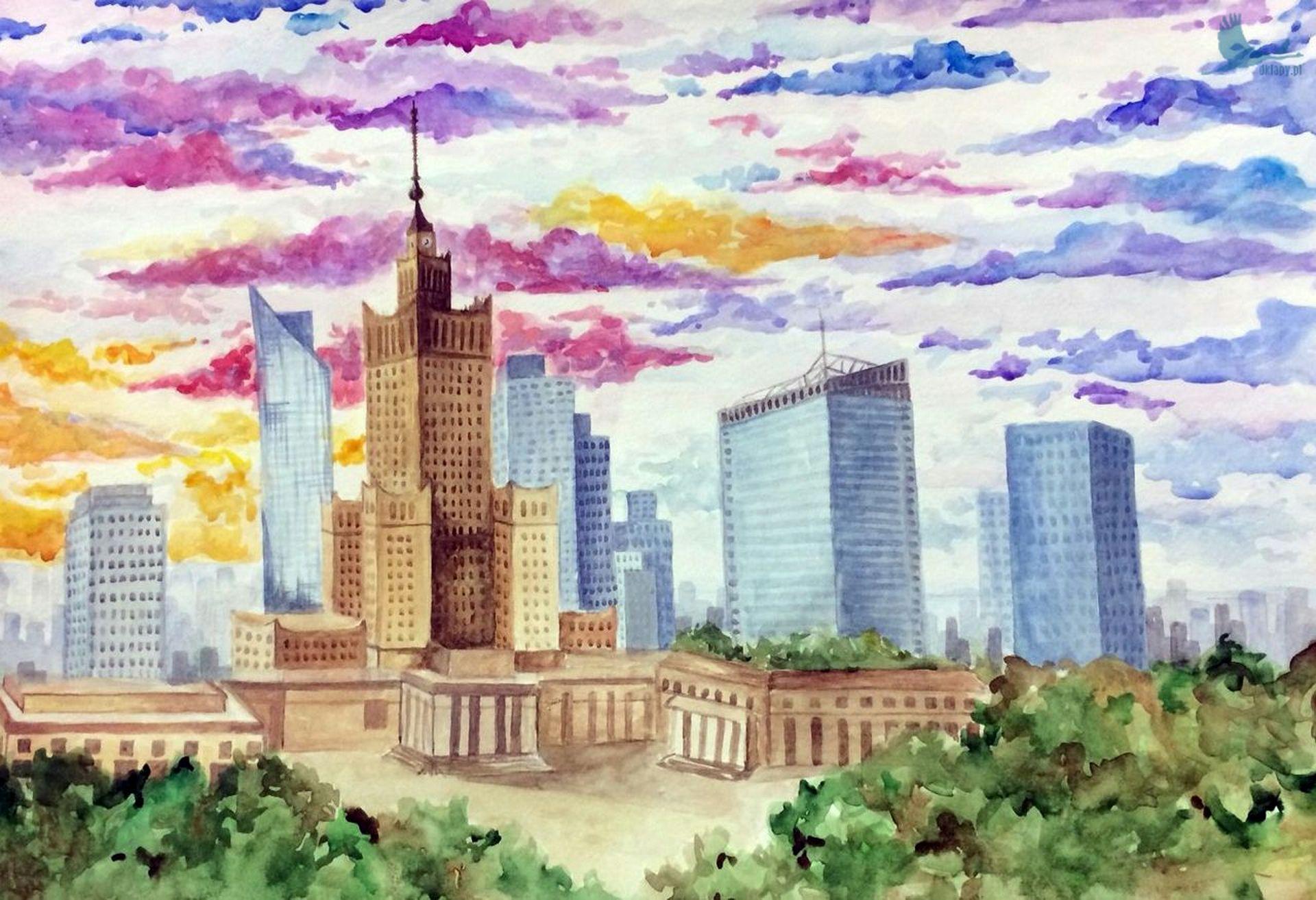XXXIV Ogólnopolski Konkurs Plastyczny Warszawa moja stolica 2020