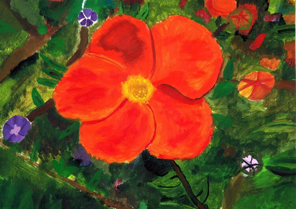 V. Ogólnopolski Konkurs Plastyczny Kwiat dziełem doskonałym -Kwiaty kwitnące na krzewach