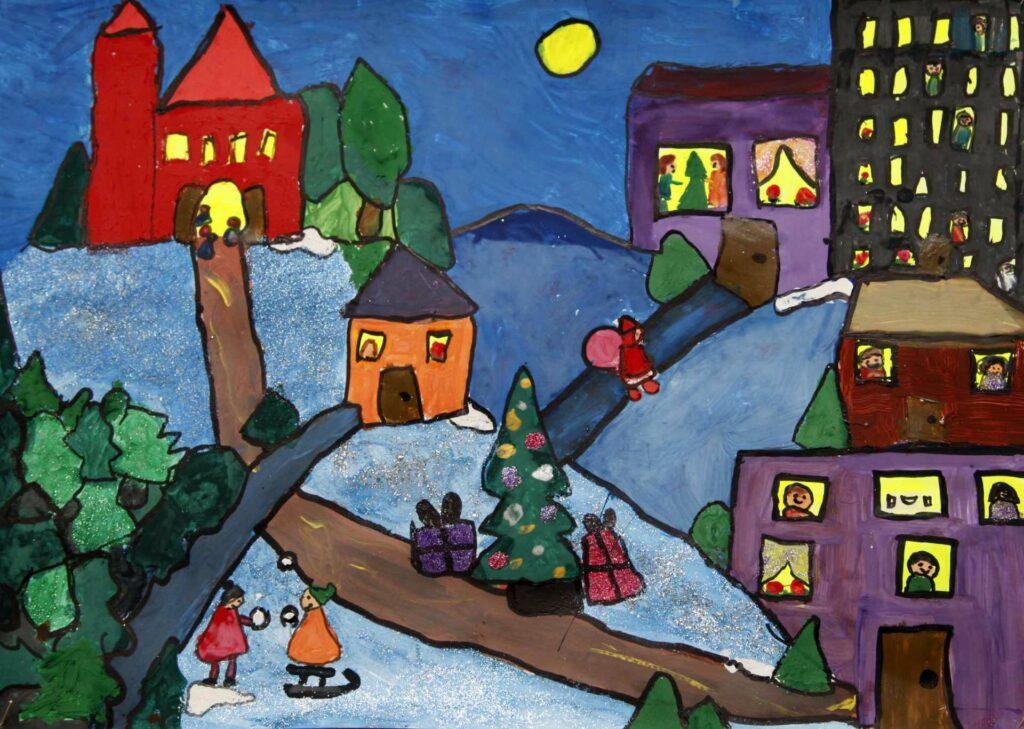 Konkurs Święta oczami mojej wyobraźni. Kategoria 1-3