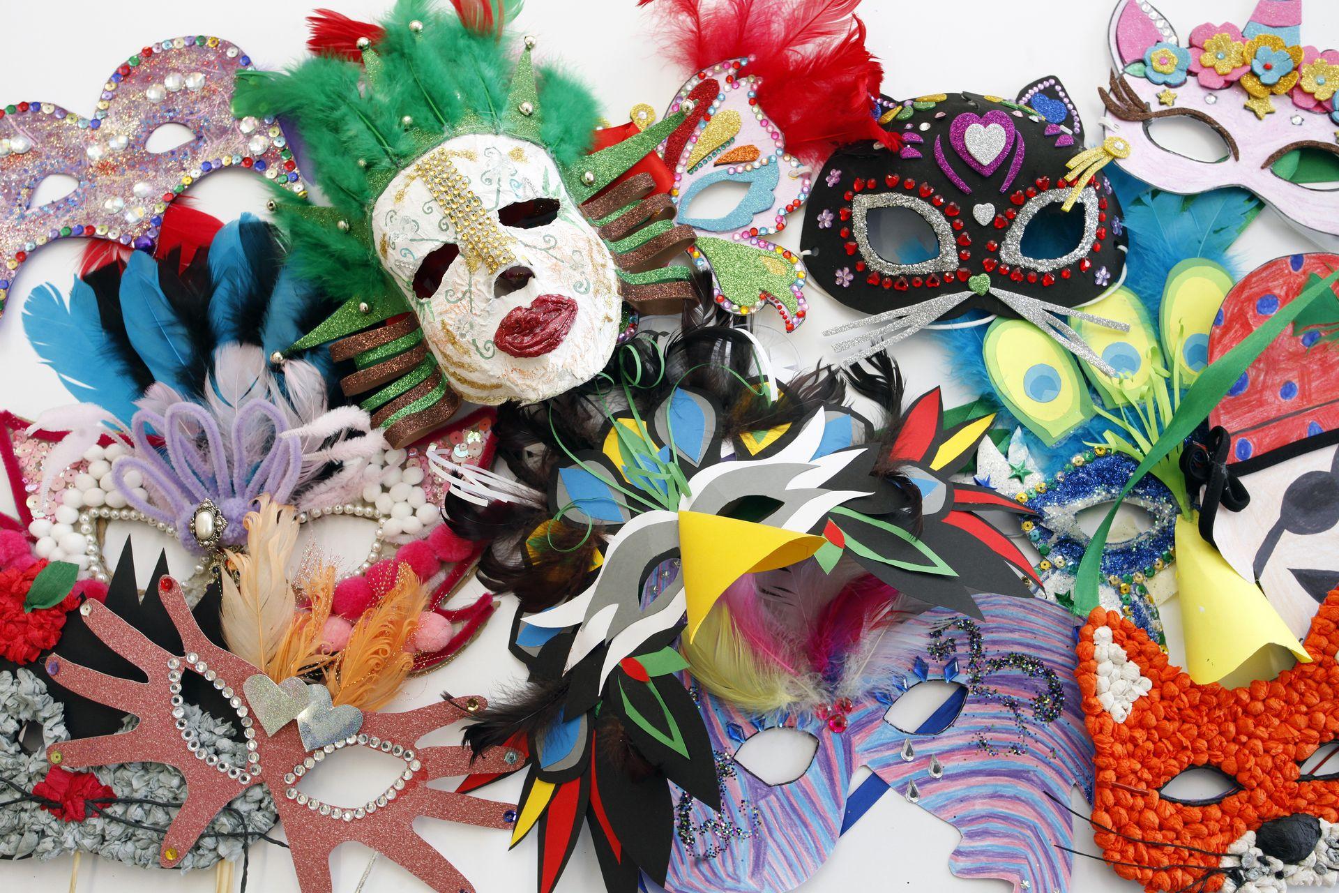 Konkurs plastyczny Najpiękniejsza maska karnawałowa