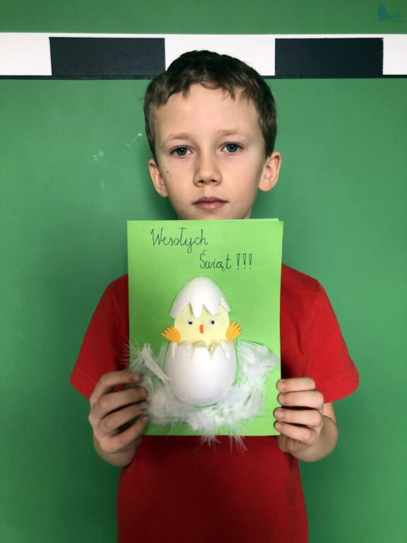 Gminny Konkurs Plastyczny na kartkę świąteczną Wielkanocne życzenia